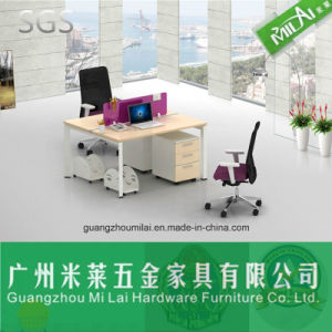 Modern Office Furniture Frame Partition Table with Triangular Table Leg pictures & photos