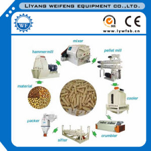 Animal Feed Pellet Production Line/Poultry Feed Pellet Production Line. pictures & photos