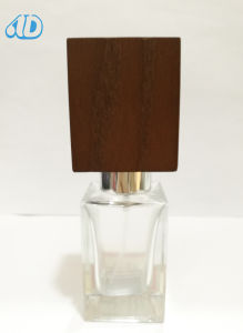 Ad-P457 Glass Perfume Bottle Hand-Made Wooden Cap pictures & photos