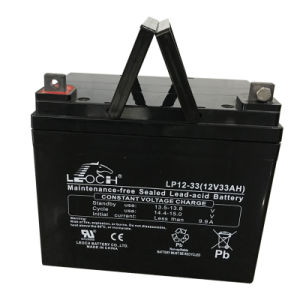 12V 33ah VRLA Storage Battery Solar Battery with Ce Approved