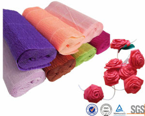 Flower Wrapping Rolls Crepe Paper pictures & photos