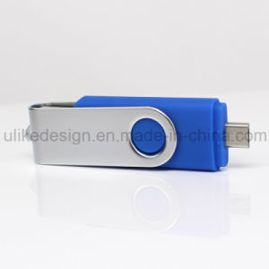 Promotional Swivel OTG USB Flash Drive (UL-OTG015) pictures & photos