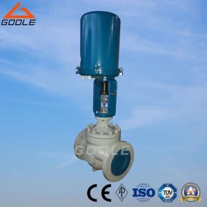 Globe Type Electric Actuated Pressure Control Valve (ZDLP) pictures & photos