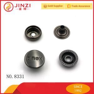 Custom High End Metal Snap Fastener of Chinese Manufacturer pictures & photos