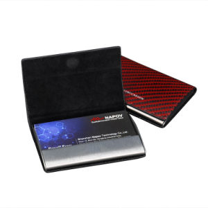 Wholesale Price Custom Personalized Various Colors Carbon /Aramid Fiber Business Card Holder pictures & photos