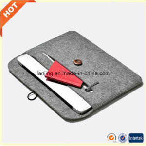 Top Factory Wholesale Best Wool Felt Bags for Laptop MacBook Bag 13/ 15/ 17 Inch pictures & photos