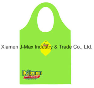 Foldable Shopper Bag, Promotion Bags, Lemon Style, Reusable, Lightweight, Grocery Bags and Handy, Gifts, Promotion, Tote Bag, Decoration & Accessories pictures & photos