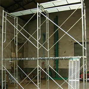 China Safe SGS Hot DIP Galvanized Frame/Door Scaffolding pictures & photos