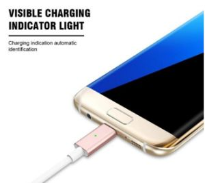 Magnetic USB Data Cable Magnetic Cable USB for iPhone 5/6/7 Series and iPad and Samsung pictures & photos