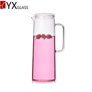 Glass Water Pitcher/Cold Water Pitcher/Fruit Juice Pot of Cold Water Pot/Glass Cold Brew Coffee Maker pictures & photos