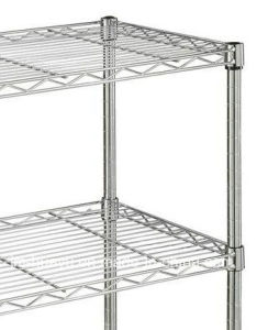 Household 2-4tier Adjustable Wire Shelf Commercial Shelving Galvanized Chromed Color Shelving pictures & photos