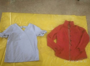 Import Ladies Cotton Blouse Summer Mix Used Second Hand Clothing pictures & photos