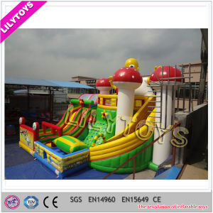 Outdoor Kids Inflatable Funcity Playground Giant Inflatable Amusement Park pictures & photos