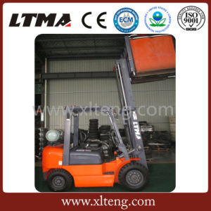 2016 New 2 Ton Gasoline/LPG Dual Fuel Forklift Truck Price pictures & photos