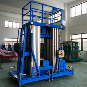18m Mast Aluminum Alloy Aerial Man Lift pictures & photos