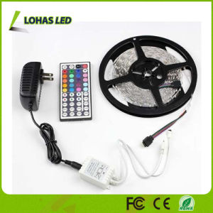 LED Rope Light DC12V 5m/Roll RGB LED Strip Light pictures & photos