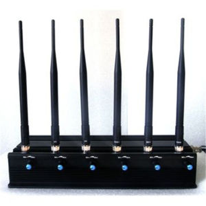 Adjustable 6 Antennas Quadcopters Drones 5.8g Jammer Remote Control WiFi GPS Jammer for UK Market pictures & photos