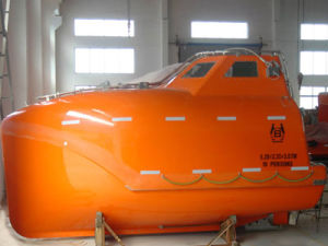 16 Persons Free Fall/Enclosed Life Boat and 55kn Davit pictures & photos