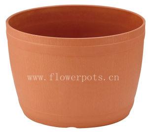 Round Plastic Flower Pot (KD7603) pictures & photos