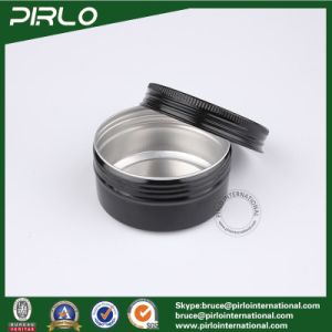 80ml Aluminum Cream Jar with Window Cap Empty Cosmetic Facial Cream Packing Container Aluminum Cream Tin with Lid pictures & photos
