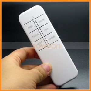 AAA Battery Powered 6 Keys White Color IR Remote Control Support Sticker Code Customize pictures & photos