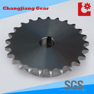 OEM Wheel Chain Gear Welded Stainless Cast Iron Sprocket with Screw Bore pictures & photos
