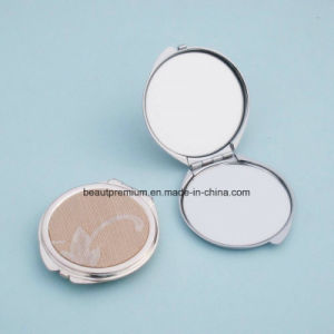Popular Round Double Side Pocket Makeup Mirror BPS0225