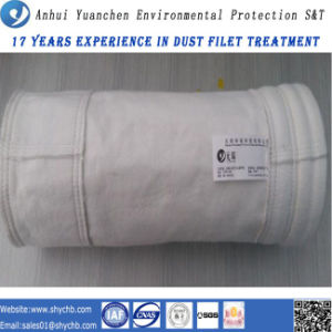 Hot Sale Calendering and Singed Air Filter Bag Fiberglass Dust Filter Bag pictures & photos