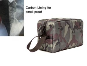 Odor Smell Proof Toiletry Bag with Carbon Lining pictures & photos
