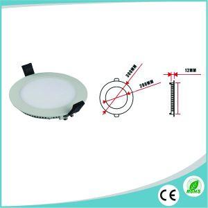 3W/6W/9W/12W/15W/18W/24W Ultra Slim Round LED Panel with 3years Warranty pictures & photos