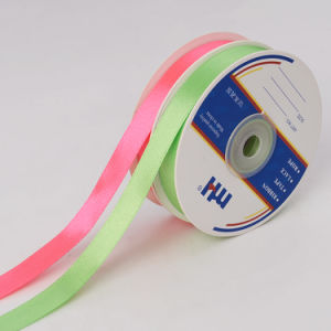 "1/2"" (12mm) Double Face Satin Ribbon for Hair Bows pictures & photos"