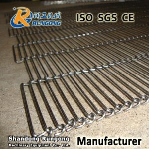 Stainless Steel Metal Mesh Belt Conveyor / Flat Flex Wire Belt / Balanced Wire Belt pictures & photos