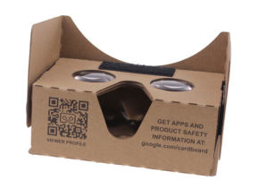 Vr Box Google Cardboard Virtual Reality 3D Glasses pictures & photos