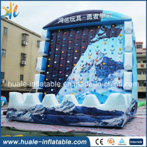 2016 Exciting Sport Inflatable Climbing Wall, Inflatable Rock Climbing Wall for Sale