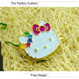 High Quality The Lacquer That Bake Cartoon Metal Badges pictures & photos