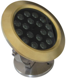 DC12 or 24V Single Color or RGB LED Underwater Light pictures & photos