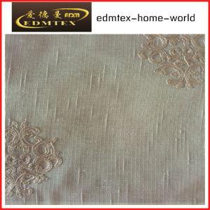 Fashion Embroidered Organza Curtain Fabric EDM2037