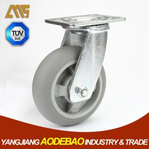 Heavy Duty Swivel TPR Caster Wheels pictures & photos