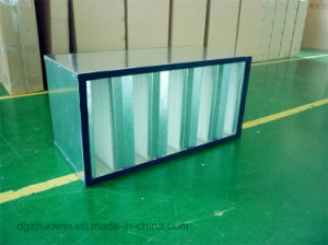 Hv HEPA Filter, High Capacity V-Bank ULPA Filter and Industrial Air Filter pictures & photos
