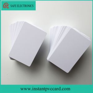 Fast Drying Blank Inkjet Plastic PVC Card pictures & photos