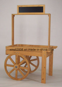 Wooden Retail Cart for Display pictures & photos
