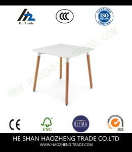 Hzct132 Square - The Top of The Plastic Wood Foot - White