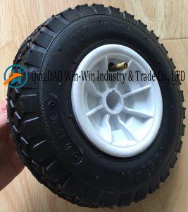 Wear-Resistant Wheelbarrow Wheel with Plastic Rim (2.50-4) pictures & photos