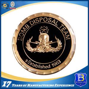 USA Military Soft Enamel Souvenir Coin with Laser Engraving (Ele-C054) pictures & photos