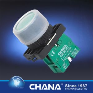 22mm Plastic Pushbutton Switch with Protective Cover pictures & photos