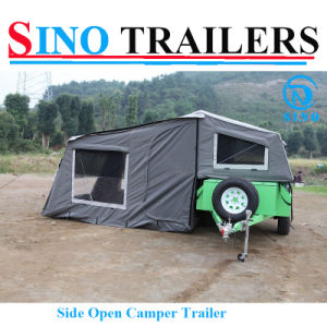 Powder Coating Soft Road Camper Trailer pictures & photos