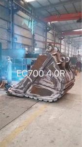 Volvo Ec700 Excavator High Tensile Steel 4m3 Rock Bucket pictures & photos