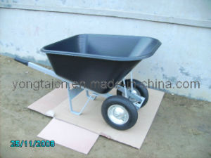 Plastic Tray Wheelbarrow (WB6612P) pictures & photos