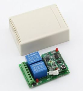 12V 2-Channel Wireless Receiver Module with Learning Code (ES-K201X) pictures & photos