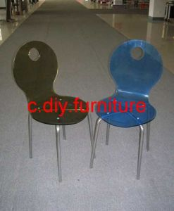Acrylic Metal Dining Chairs (C-105)